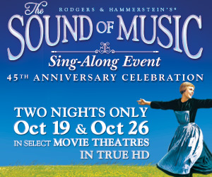 "Win a pair of tickets to see ""The Sound of Music"" on the big screen"