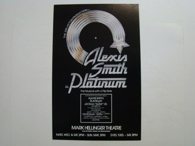 """Alexis Smith in """"Platinum"""""""