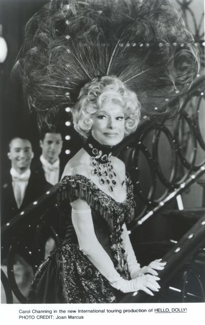 """Showstopper: Carol Channing in """"Hello, Dolly!"""""""