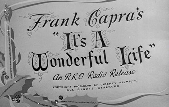 "Big Screen: ""It's a Wonderful Life"""